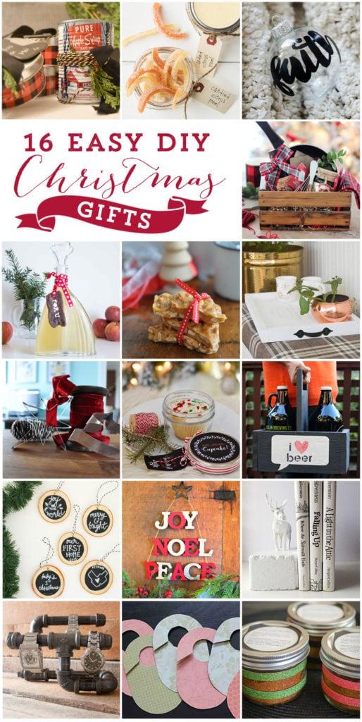 Easy DIY Christmas gift ideas including homemade apple cider vinegar | DIY holiday gifts | Simple handmade gift ideas #giftideas #ChristamsGifts #applecidervinegar #diy
