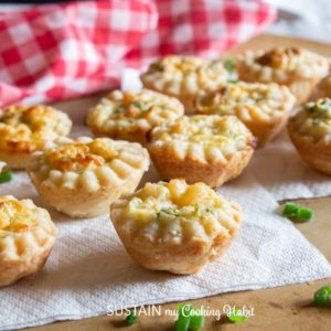 delicious and savory puff pastry