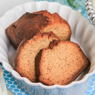 loaf of moist banana bread recipe